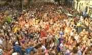 Bloco do Barbas anima foliões na Zona Sul do Rio