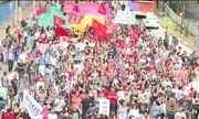 Protesto em SP contra aumento nas passagens dos transportes acaba em quebra-quebra