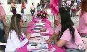Grupo realiza ações sobre sobre combate ao câncer de mama em Caruaru