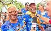 """Martinho da Vila e Mart'nália desfilam com a """"Banda de Ipanema"""""""