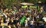 Manifestação a favor de Jair Bolsonaro aconteceu em Aracaju