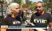 Nova Friburgo faz campanha para limpar bueiros