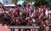 Em Passo Fundo e Pelotas a Cavalgada do Bem também arrecada alimentos neste sábado (14)