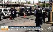 Polícia Militar realiza fiscalização nas ruas de Sobral para garantir isolamento social rí