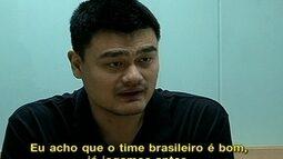 Yao Ming revela trabalho para descobrir novos talentos e dá dicas para Rio 2016
