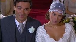 Olga se casa com Peixoto