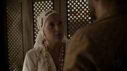 Mãe Marina entrega diário de Sereia a Augustão