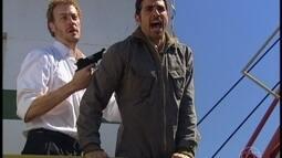 Tony ameaça Paco e manda que ele peça o carro