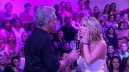 Campeã, Fernanda não consegue acreditar: 'Bial, isso está errado'