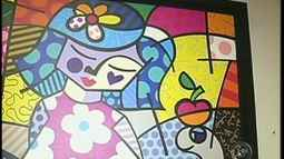 Exposio de obras de Romero Britto termina neste domingo em Botucatu, SP