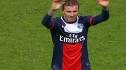 David Beckham se emociona no ltimo jogo em casa antes de aposentadoria