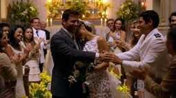 Cassiano e Ester casam