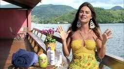 Thaila Ayala conta dica de beleza para uma pele saudável
