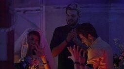#FranGo no altar: Diego e Franciele 'casam' na Festa Vegas