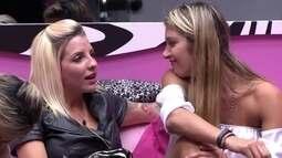 Poly acha que Roni está bravo com ela: 'Pelo menos eu tenho você aí fora, Bial'