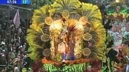 Grande campeã do carnaval fora de época de Uruguaiana, RS, foi conhecida nesse domingo