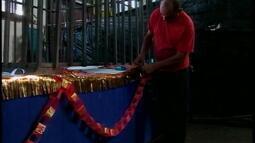 Confira a preparação da Unidos da Capivara para o Carnaval de Rio Grande, RS