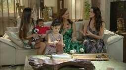 Juliana elogia Iolanda para Helena
