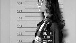 Judith é presa