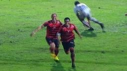 O gol de Oeste 1 x 0 Paraná pela 11ª rodada da Série B do Brasileirão