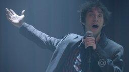 João continua fazendo graça em cima dos palcos
