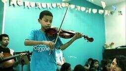 O sonho de mudar vidas pela música