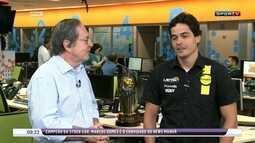 Campeão da Stock Car, Marcos Gomes comemora título inédito na carreira