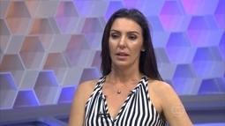 Glenda relembra entrevista exclusiva com Rebeca Gusmão