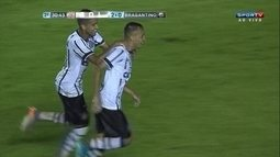 Gol do Corinthians! Maycon aumenta após defesa de Alysson aos 30 do 2º tempo