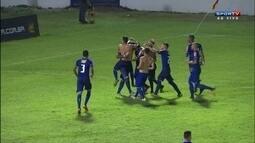 Os pênaltis de Cruzeiro 2 (4) x (1) 2 Marília pela Copa sp de futebol júnior