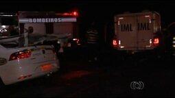 Acidente entre táxi e caminhão mata três na GO-536, em Senador Canedo