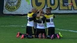 Os gols de Criciúma 1 x 1 Cruzeiro pela 1ª rodada do Grupo A da Primeira Liga