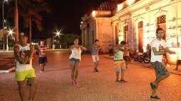 Iniciativa de moradores de São Bras permite o encontro de várias tribos em praça