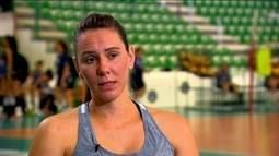 Grávida de cinco meses, Fabíola ainda sonha em disputar as Olimpíadas do Rio de Janeiro