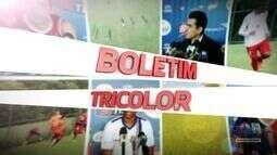 TV Bahêa - Boletim Tricolor: Hernane fala do sonho de vestir e defender as cores do Bahia