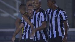 Os gols de Botafogo 2 x 1 Portuguesa pela 2ª rodada do Cariocão 2016