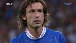 Pirlo conta um momento mágico da Euro 2012 e lembra da cavadinha contra a Inglaterra
