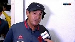 Muricy fala sobre melhora na equipe do Flamengo