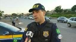 Polícia Rodoviária Federal começa nesta sexta-feira a operação de Carnaval