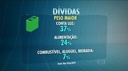 Pesquisa da Fecomércio mostra que 51,8% das famílias paulistanas têm dividas