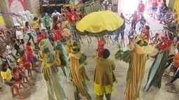 Escola Pernambucana de Circo caiu na folia