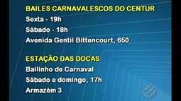 Confira a programação de Carnaval na capital paraense