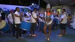 Escolas de samba fazem os últimos ajustes para o desfile em Goiânia