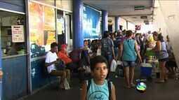 Cresce o número de passageiros no terminal rodoviário de Aracaju