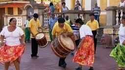 Samba de bumbo é tradicional em Pirapora do Bom Jesus