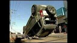 Motorista embriagado atropela pedestre, em Colatina, no Espírito Santo