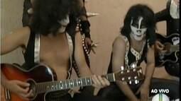 Show da banda Kiss Cover em Ipatinga acontece no Carnaval