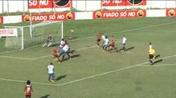 O Campinense goleou o Atlético em Cajazeiras