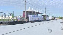 Veja preparativos para desfile das escolas de samba do grupo de acesso em Campo Grande