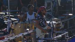 Bell Marques e Ivete Sangalo puxam blocos no circuito Barra-Ondina